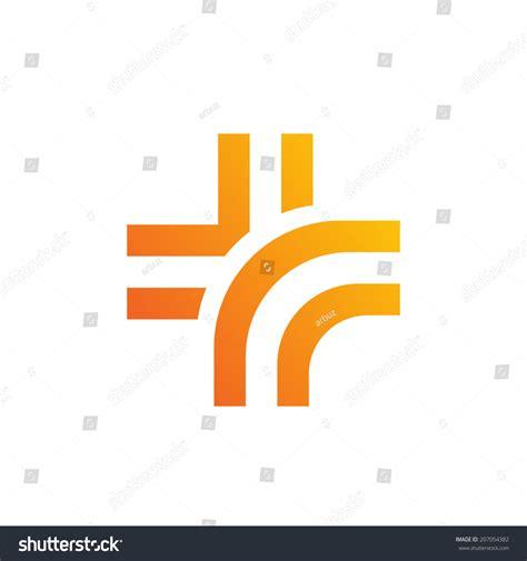 Medical Logo Design Template Icon Cross Stock Vector 207054382 Shutterstock Sign Design Template