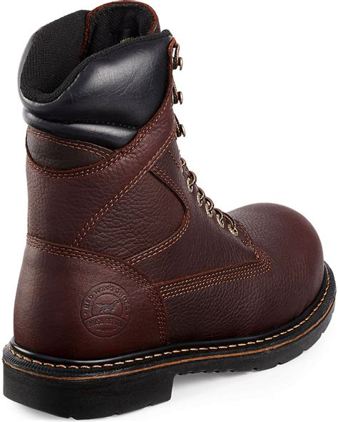 wing steel toe work boots setter by wing shoes s farmington lace up