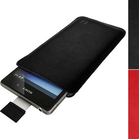 Hp Sony Xperia N2 funda soporte bolsa de cuero para sony xperia z1 c6902