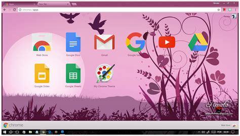 google chrome themes cute purple purple sunset google chrome themes