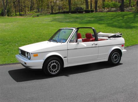 Convertible Week 1988 Volkswagen Cabriolet German Cars