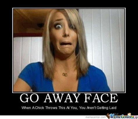 Go Away Meme - go away face by petty meme center