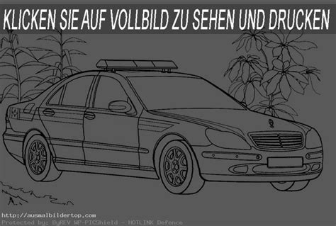Polizeiauto Zum Malen by Polizei 6 Ausmalbilder Top