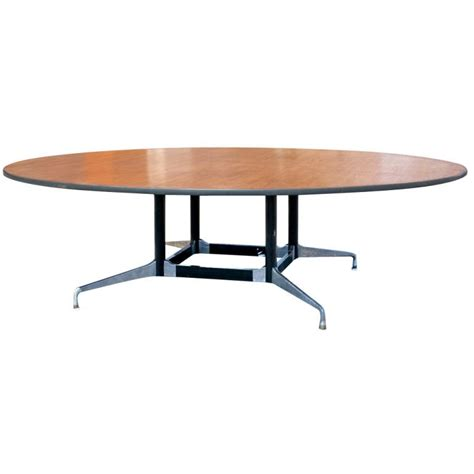 Herman Miller Conference Table Eames For Herman Miller Eight Foot Conference Table At 1stdibs