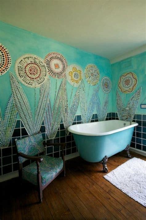 boho bathroom ideas mosa 239 que salle de bain merveilleuse et cr 233 ative