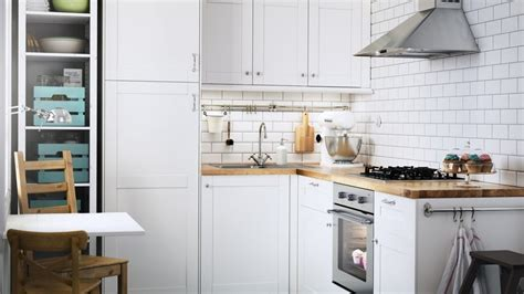 騁ag鑽e cuisine ikea cuisine blanche et bois clair cuisine moderne grise et