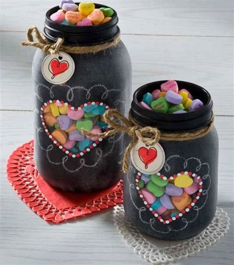 frascos decorados regalo 45 regalos para san valentin hechos con materiales