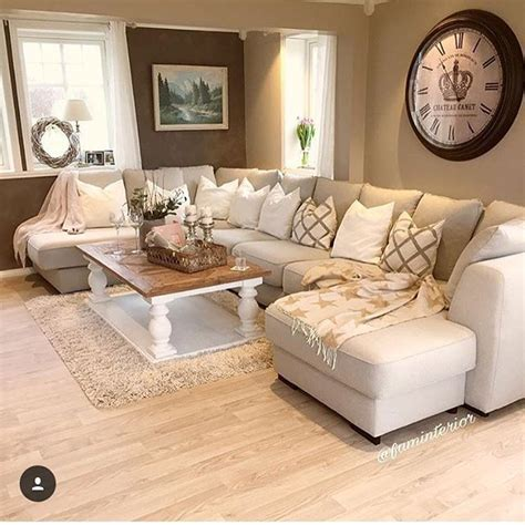 Decorating Living Room With Sectional Sofa 1101 Best Images About Home Deco On Pinterest Inspired Bedroom Above Kitchen Cabinets