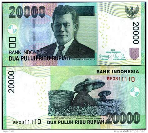 Uang Lama 20 000 uang kertas indonesia rp 20 000 deritaguru