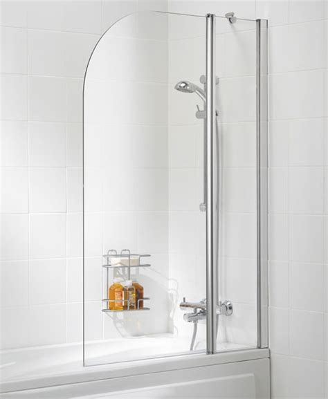 curved shower screens bath lakes curved bath shower screen 975mm ss20 05