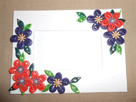 Make Paper Design - quilling photo frame designs 2015 quilling