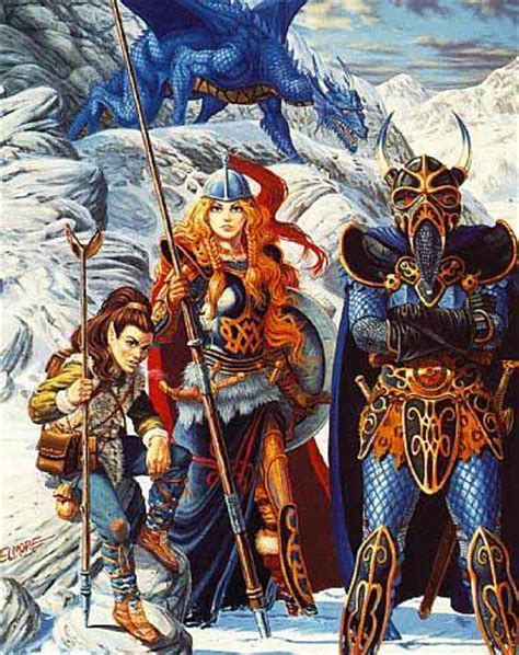 elven winter the saga of the elven books incline d d artwork rpg codex gt raise 5k for