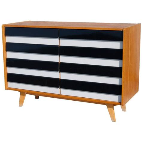 Striped Chest Of Drawers by Black And White Striped Chest Of Drawers By Jiri Jiroutek