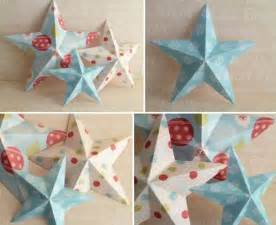 How To Make Christmas Decorations At Home Easy by Making Christmas Decorations Easy 3d Stars Baubles And