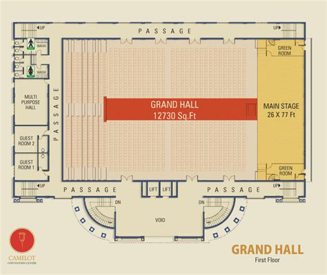marriage hall floor plan camelot grand hall provides state of the art acoustic
