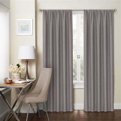 92 curtain panels eclipse thermaliner white blackout energy saving curtain