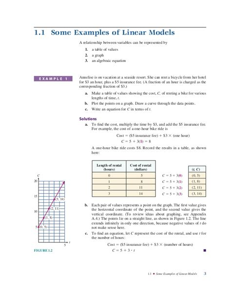 writing linear equations from tables worksheet writing linear equations from a table worksheet lesson 5 2