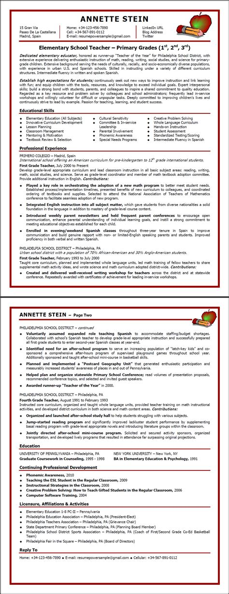 pre primary school teacher resume sample free resume samples resume