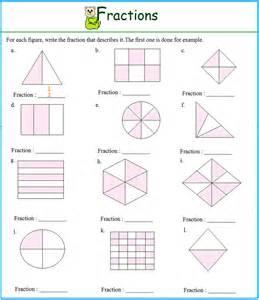 worksheet on fractions