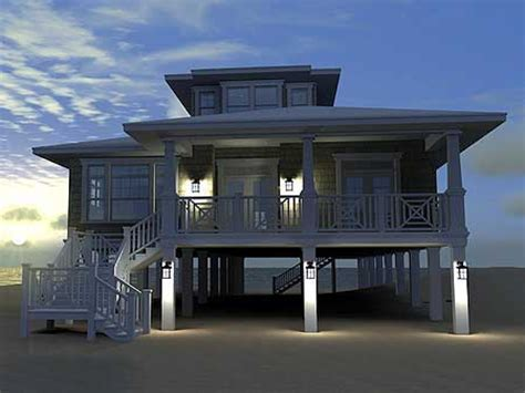 hurricane proof stilt home plans images
