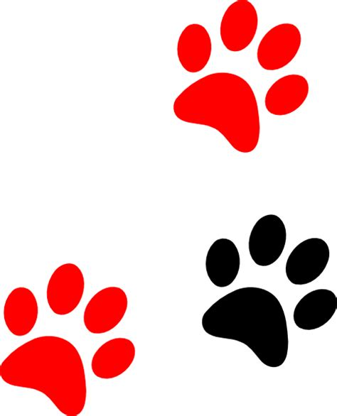 tiger paw template tiger paw print clip cliparts co