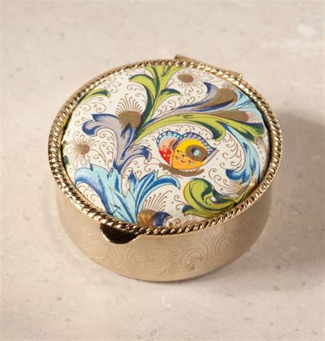 florentine firenze pill box decorative pill box