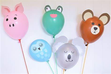 Balon Animals diy animal balloons pieces inspiration