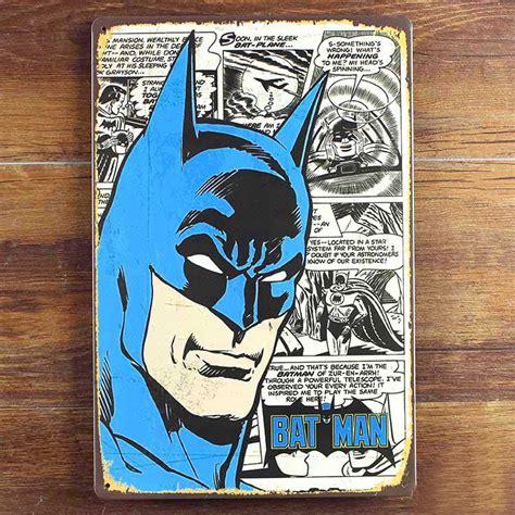 Cafe Decor Poster Batman 2017 batman tin sign vintage metal poster picture iron