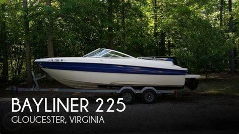 deck boats for sale in va 2006 bayliner 22 deck boat for sale in bellamy va