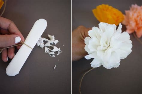 How To Make Crepe Paper Pom Poms - diy crepe paper pom pom garland honestlyyum