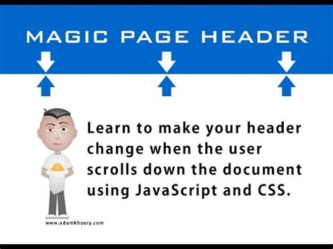 tutorial javascript css html scrolling activated css3 animation tutorial 1 of 2