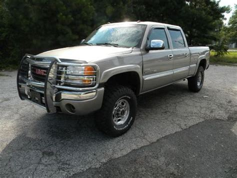 purchase used 2003 gmc sierra 2500 hd slt extended cab pickup 4 door 6 6l in fitchburg buy used 2003 gmc sierra 2500 slt duramax diesel 4x4 no reserve in greenwood south carolina