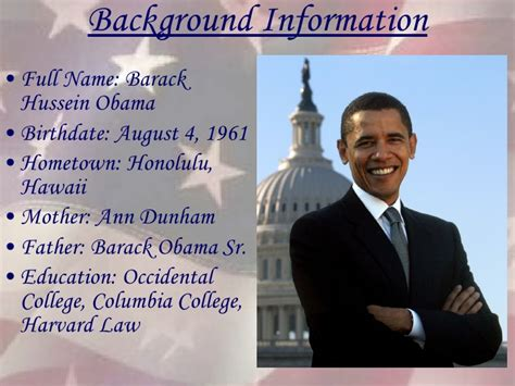 true biography of barack obama president barack obama