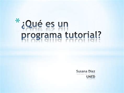 Video Tutorial Que Es | qu 233 es un programa tutorial