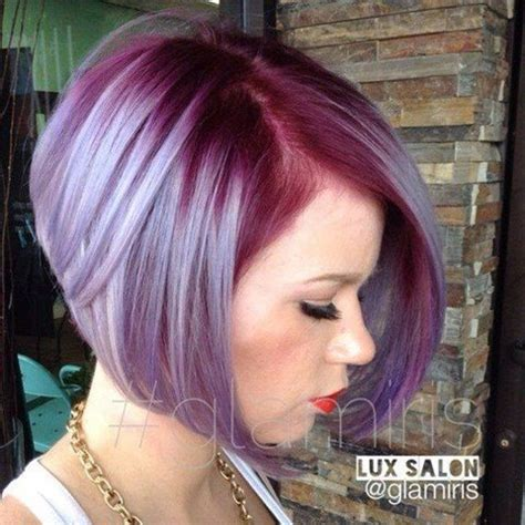 trendige kurze frisuren mit tollen farben