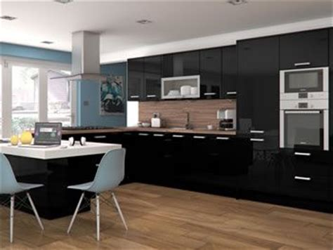 Black Gloss Kitchen Ideas 39 Best Images About Black Gloss On Models Kitchen Gallery And High Gloss Kitchen