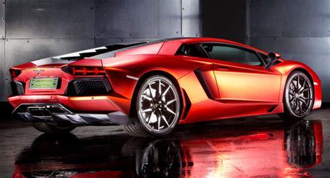 How Much Does A Lamborghini Cost In Australia Lamborghini Aventador Matte Orange Chrome Wrap Will