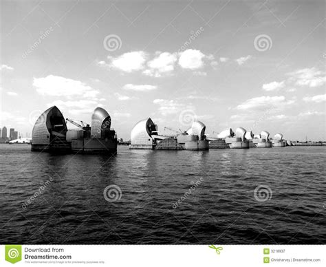 thames barrier animation the thames barrier 7 royalty free stock photography