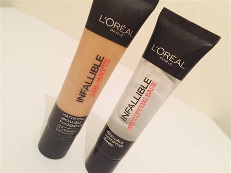 l oreal infallible 24 hour matte foundation mattifying