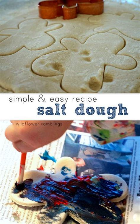 best salt dough recipe wildflower ramblings