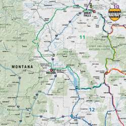 Road Map Montana by Idaho Montana Wyoming Scenic Road Trips Maps Com