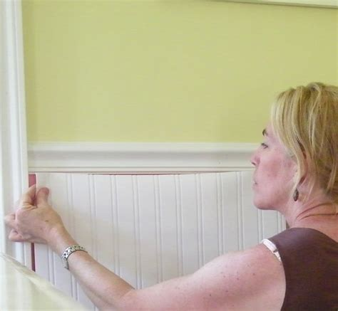 water resistant beadboard whoa wainscoting wallpaper ooh do you think that s