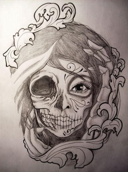 tattoo design sketches 27 catrina sketch tattoos ideas