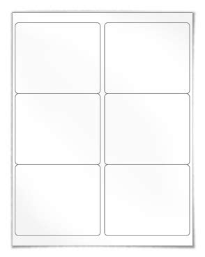 Label Template 6 Per Sheet Printable Label Templates 6 Per Sheet Label Template