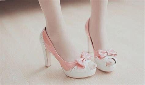 Wedges Pastel Series shoes high heels asian kawaii girly shoes heels