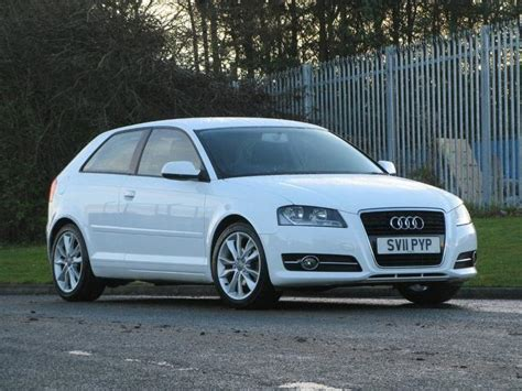 Audi A3 1 2 by Used Audi A3 Car 2011 White Petrol 1 2 Tfsi Sport 3 Door