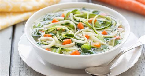 types of vegetable soups cooker veggie noodle soup hungry