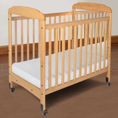 Foundations Serenity Compact Fixed Side Mirror End Crib In Baby Crib Mirror