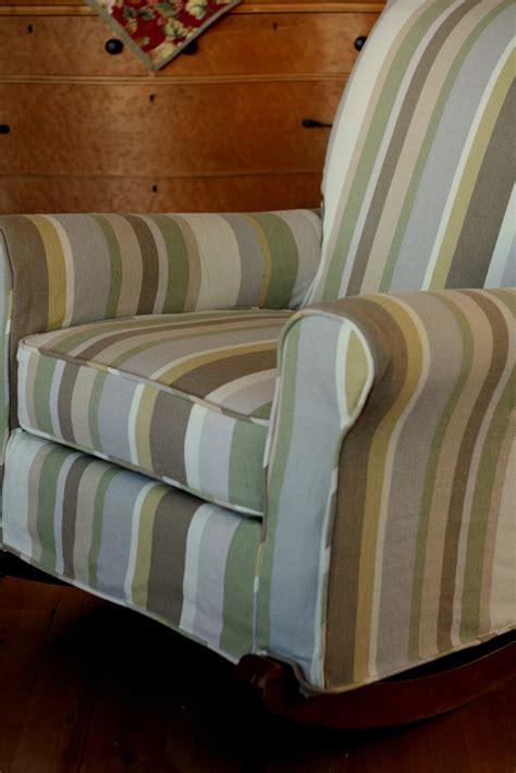 upholstered rocking chair slipcover custom slipcovers by shelley upholstered rocking chair