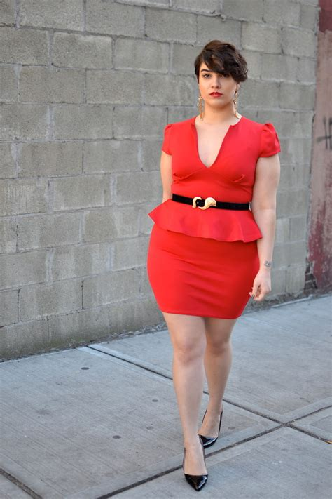 short red hair plus size nadia aboulhosn boohoo asos vintage short hair dont